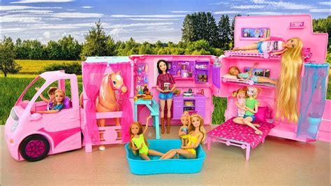 Barbie Sisters Deluxe Camper Van