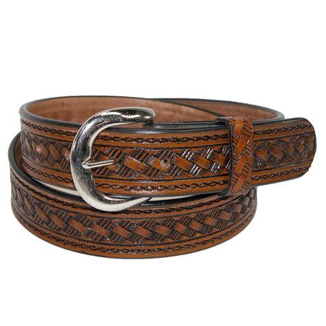 Big Men's Western Belts