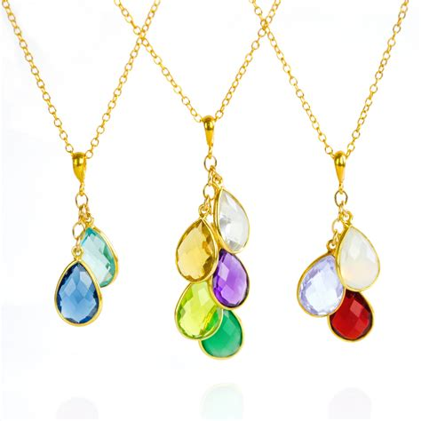 Birthstone Mothers Jewelry