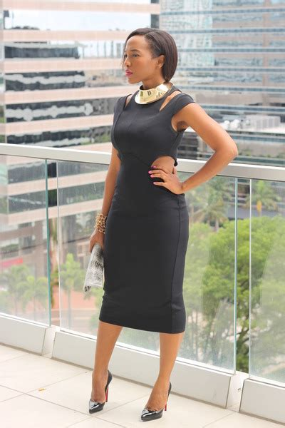 Black Patent Leather Pumps Outfit