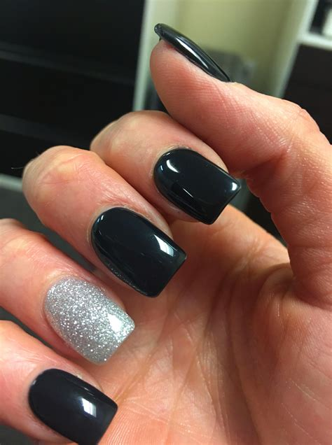 Black Pedicure