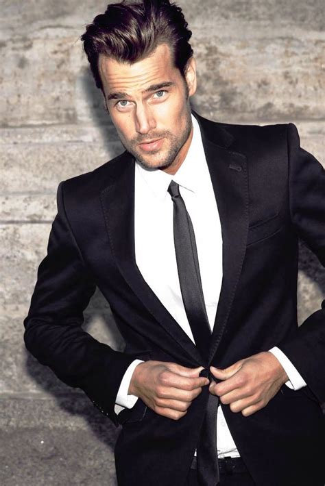 Black Suit Fashion
