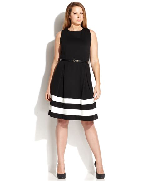 plus size fit and flare cocktail dress Page 2 images