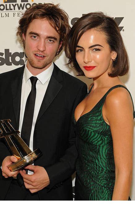 Camilla Belle and Robert Pattinson