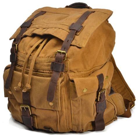 Canvas Backpacks for Men