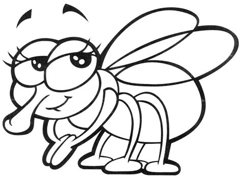 Galerry cartoon spider coloring page