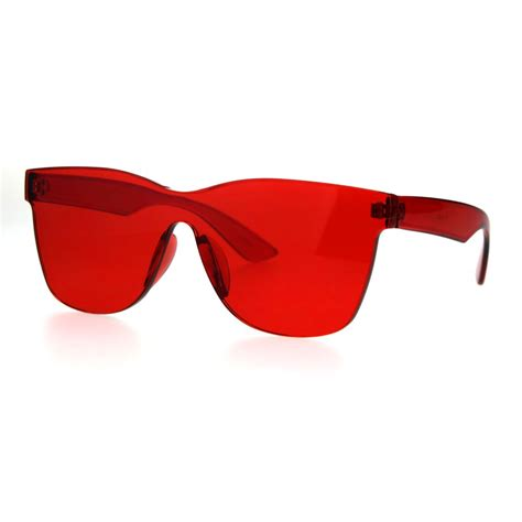 Colored Plastic Sunglasses with Sides