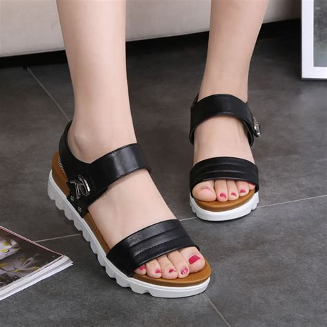 Comfortable Leather Sandals for Women