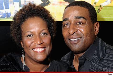 Cris Carter and Wife