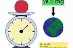 Difference Between Weight and Mass KS2
