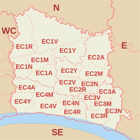 EC Postcode Area