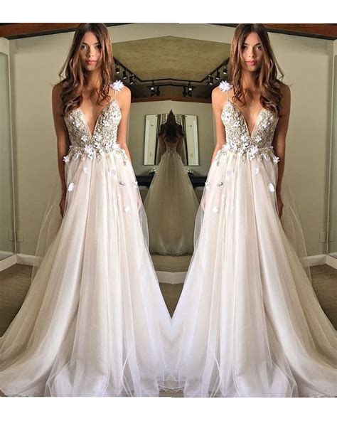 Flowy Wedding Dresses
