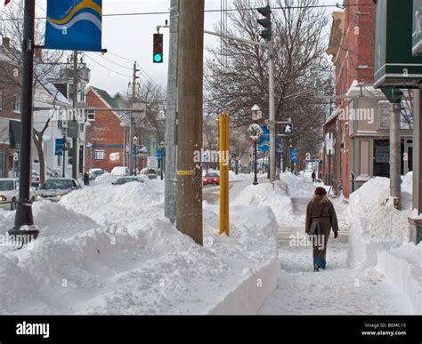 Fredericton New Brunswick Winter