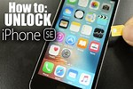 How to Unlock New iPhone SE