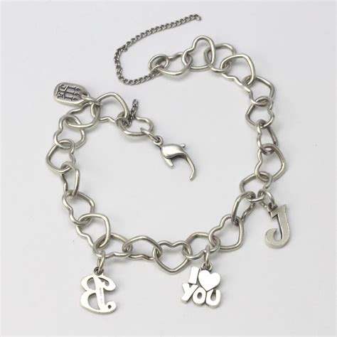 James Avery Heart Charm Bracelet