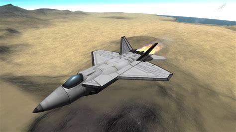 Kerbal F-22 Stock