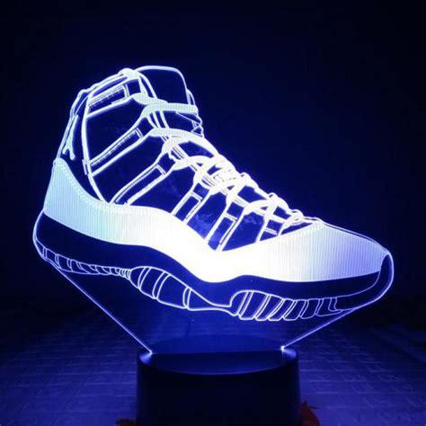 LED Jordan Shoes Boys