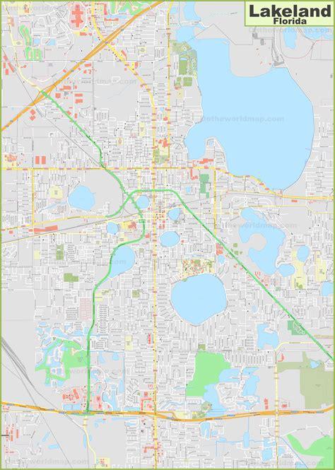 Lakeland Map