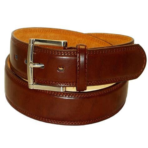 Large Sizes Men's Leather Belts