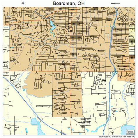 Map of Boardman OH