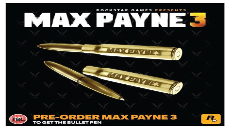 Max Payne 3 Pre-Order
