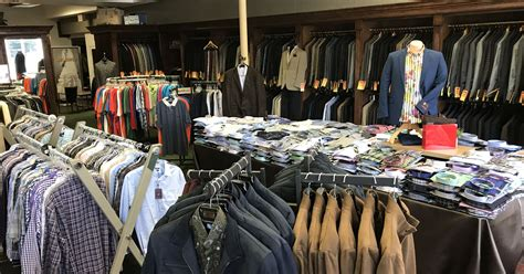 Men's Clothing Stores