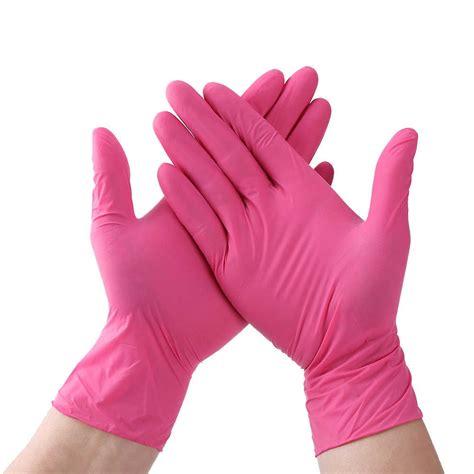 Men's Pink Gloves