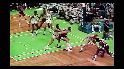 Michael Jordan Crossover Larry Bird