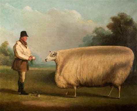 Painting of Live Stock Seep
