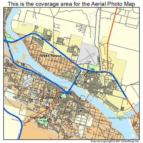 Pasco WA Map
