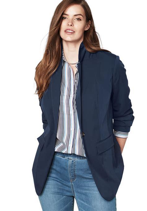 Plus Size Jackets and Blazers