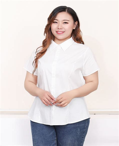 Plus Size White Shirt