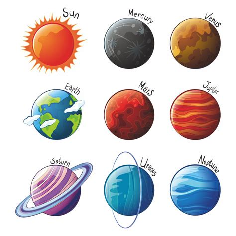Galerry printable planets cutouts Page 2