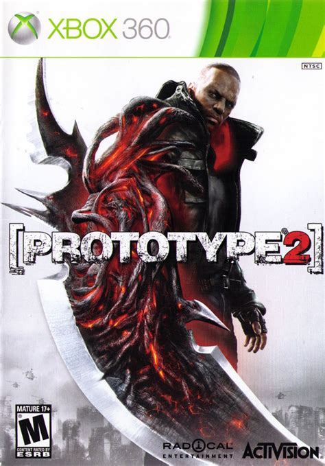 Prototype 2 Game Cover for Xbox 360