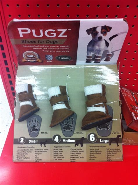 Pugz Shoes for Dogs