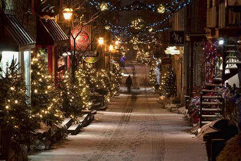 Quebec City Christmas