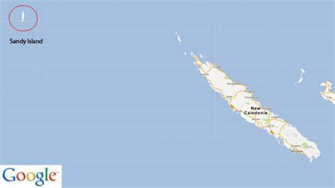 Sandy Island Google Maps