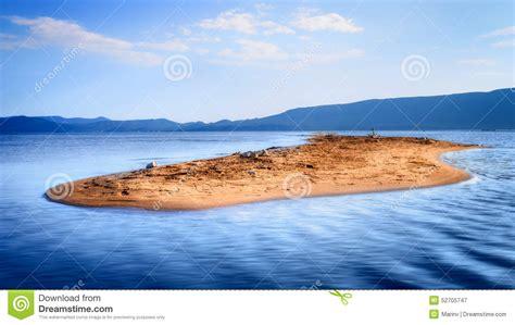 Sandy Island in the Ocean
