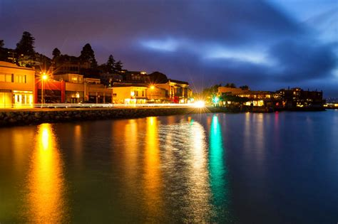 Sausalito at Night
