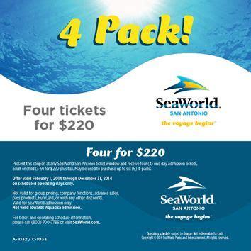 SeaWorld San Antonio Coupons