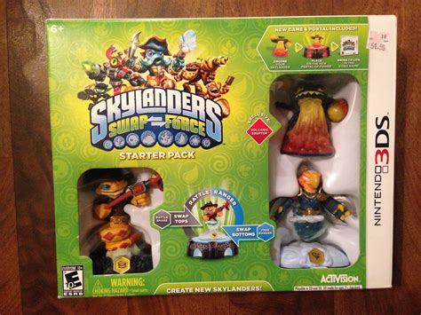 Skylanders Swap Force 3DS