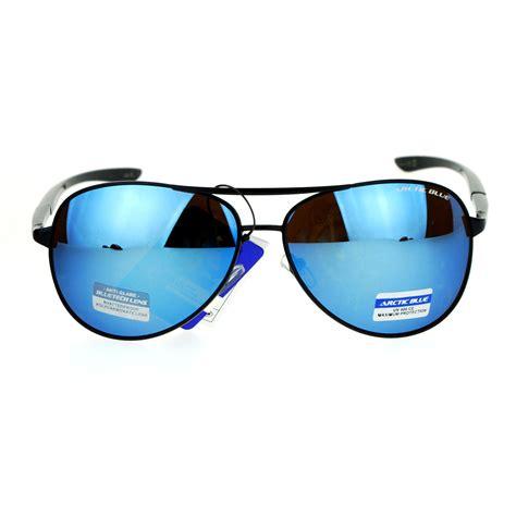 Sport Sunglasses Blue Lenses