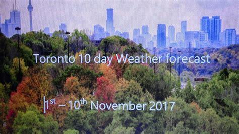 Toronto Weather 10 Day