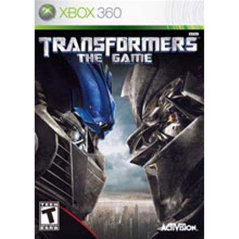 Transformers the Game Xbox Walmart