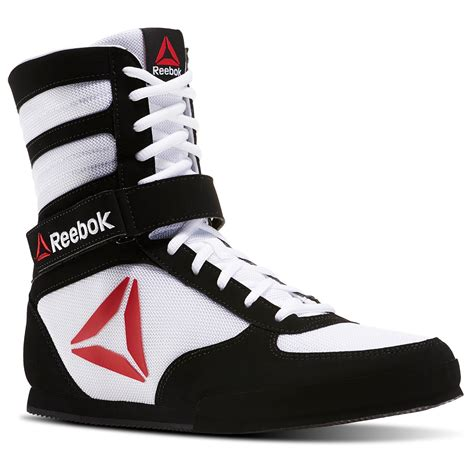 Galerry womens high top wrestling boxing shoe white