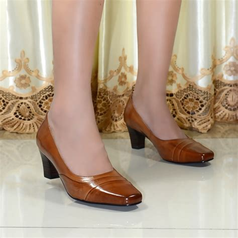 Women's Square Toe Dress Shoes