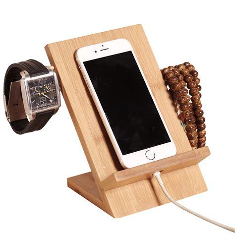 Wood Phone Charging Station