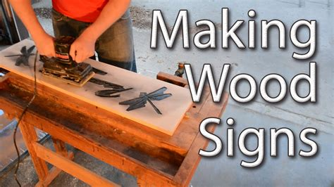Wood Sign Making Templates