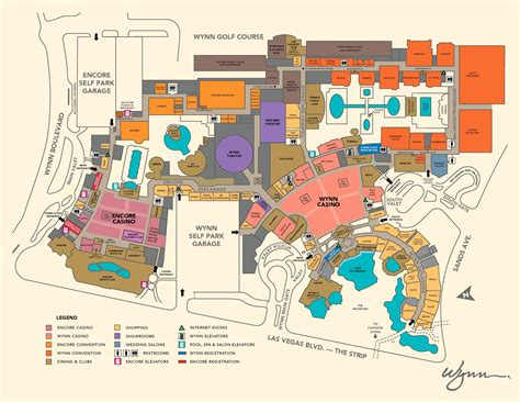Wynn Las Vegas Map