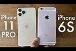 iPhone 6s vs 11 Pro